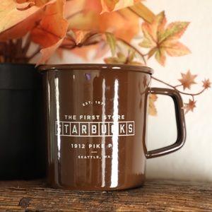 The First Store Starbucks enamel mug